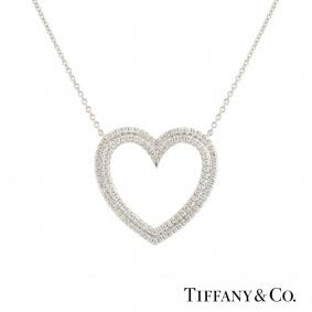 Tiffany & Co. Metro Heart Pendant
